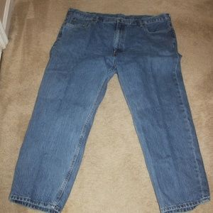 Levis 550 Men's Jeans 46 X 30 Med Wash 100% cotton
